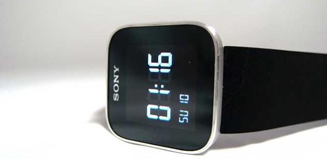 sony Smart Watchで腕時計にメール受信(1)