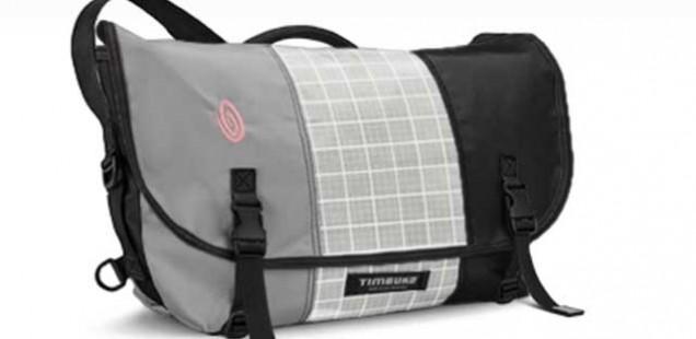 TIMBUK2のメッセンジャーバッグをカスタマイズ