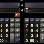 iPad1台で、2台分の電卓を使用!