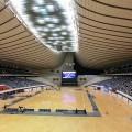 ZR-1000で代々木第一競技場のフットサル会場をスナップショット